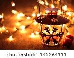 Lantern And Christmas Lights...