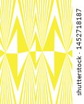 geometric color and pattern... | Shutterstock .eps vector #1452718187