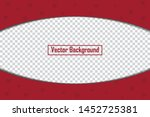 red hearts background. love.... | Shutterstock .eps vector #1452725381