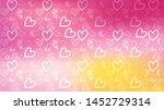 love card vector. illustration... | Shutterstock .eps vector #1452729314