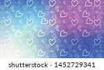love card vector. illustration... | Shutterstock .eps vector #1452729341