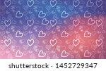 love card vector. illustration... | Shutterstock .eps vector #1452729347