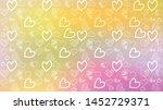 love card vector. illustration... | Shutterstock .eps vector #1452729371