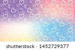 love card vector. illustration... | Shutterstock .eps vector #1452729377