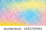 love card vector. illustration... | Shutterstock .eps vector #1452729401