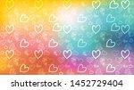 love card vector. illustration... | Shutterstock .eps vector #1452729404