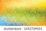 love card vector. illustration... | Shutterstock .eps vector #1452729431