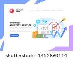 financial business management...   Shutterstock .eps vector #1452860114