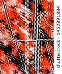 abstract design with texture... | Shutterstock . vector #1452891884