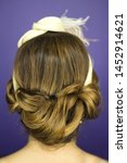 woman with hairstyle and makeup ... | Shutterstock . vector #1452914621