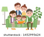 illustration that three... | Shutterstock .eps vector #1452995624