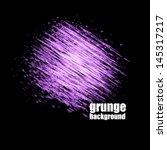 vector grunge speech bubble... | Shutterstock .eps vector #145317217