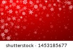 christmas background of complex ... | Shutterstock .eps vector #1453185677