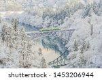 Panoramic Winter View Of Tadami ...