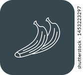 banana icon for your project    Shutterstock .eps vector #1453223297