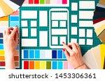 ux ui design. placing windows...