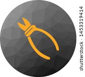 sharp pliers icon for your... | Shutterstock .eps vector #1453319414