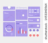 modern web and app ui elements...