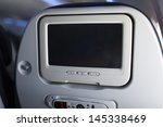 passenger monitor in the... | Shutterstock . vector #145338469