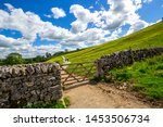Pennine Way  Stone Wall On The...