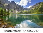 Eye Of The Sea Lake In Tatra...