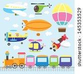 aventura,veículo aéreo,avião,desenho animado,desenhos animados,criança,infância,clip-art,voando,diversão,helicóptero,balão de ar quente,ilustração e pintura,ilustrações e arte vetorial,inocência