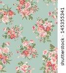 Vintage Floral  Flower Seamles...
