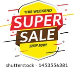 sale and special offer tag ... | Shutterstock .eps vector #1453556381