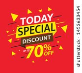 sale and special offer tag ... | Shutterstock .eps vector #1453633454