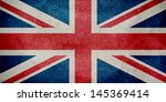 United Kingdom Flag Painted On...