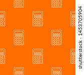 calculator pattern orange for...