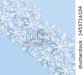 merry christmas party...   Shutterstock .eps vector #1453716104