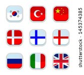 set of language icon  vector  | Shutterstock .eps vector #145374385