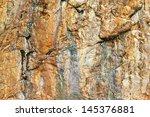 grunge stone wall rock... | Shutterstock . vector #145376881