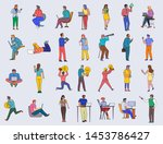 cartoon flat vector design...   Shutterstock .eps vector #1453786427