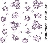 floral vector illustrations.... | Shutterstock .eps vector #1453853534