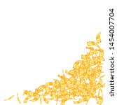 korean won notes falling. small ...   Shutterstock .eps vector #1454007704