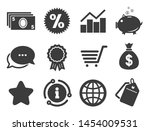 piggy bank  award and star...   Shutterstock .eps vector #1454009531