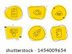 buying  startup rocket and...   Shutterstock .eps vector #1454009654