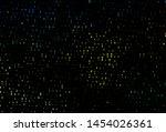 dark blue  yellow vector...   Shutterstock .eps vector #1454026361