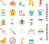 supermarket icons pack....   Shutterstock .eps vector #1454063654