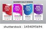 vektor modern fluid for big... | Shutterstock .eps vector #1454095694