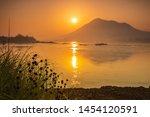 Beautiful Sunrise On Mekong...