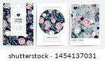 vector illustration of beatiful ... | Shutterstock .eps vector #1454137031