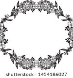 beautiful shapes of frames ... | Shutterstock .eps vector #1454186027