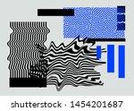 universal modern geometric... | Shutterstock .eps vector #1454201687