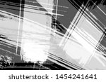 grunge black and white abstract ... | Shutterstock . vector #1454241641