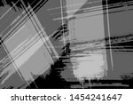 grunge black and white abstract ... | Shutterstock . vector #1454241647