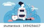 metabolism vector illustration. ... | Shutterstock .eps vector #1454256617