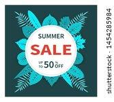 modern design template summer... | Shutterstock .eps vector #1454285984
